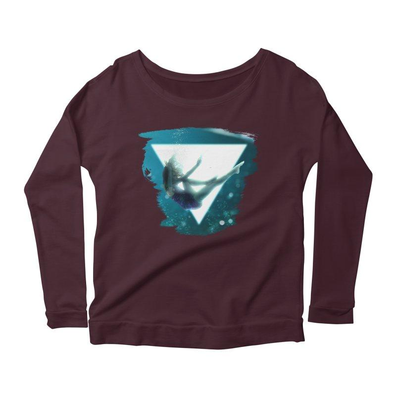 Falling Under Women's Scoop Neck Longsleeve T-Shirt by Lumi