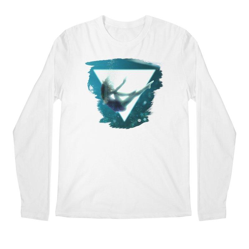Falling Under Men's Regular Longsleeve T-Shirt by Lumi