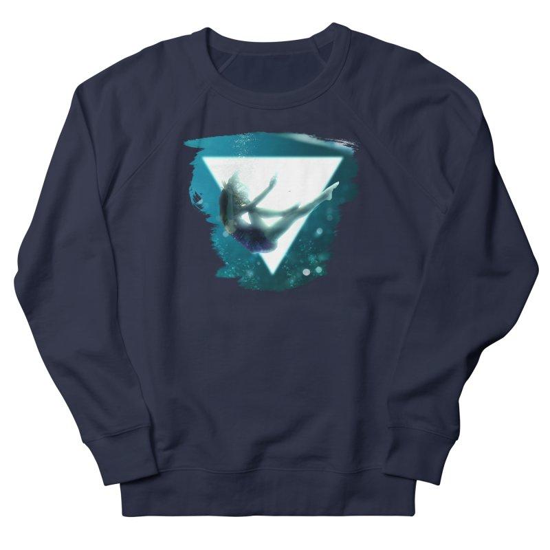 Falling Under Men's French Terry Sweatshirt by Lumi