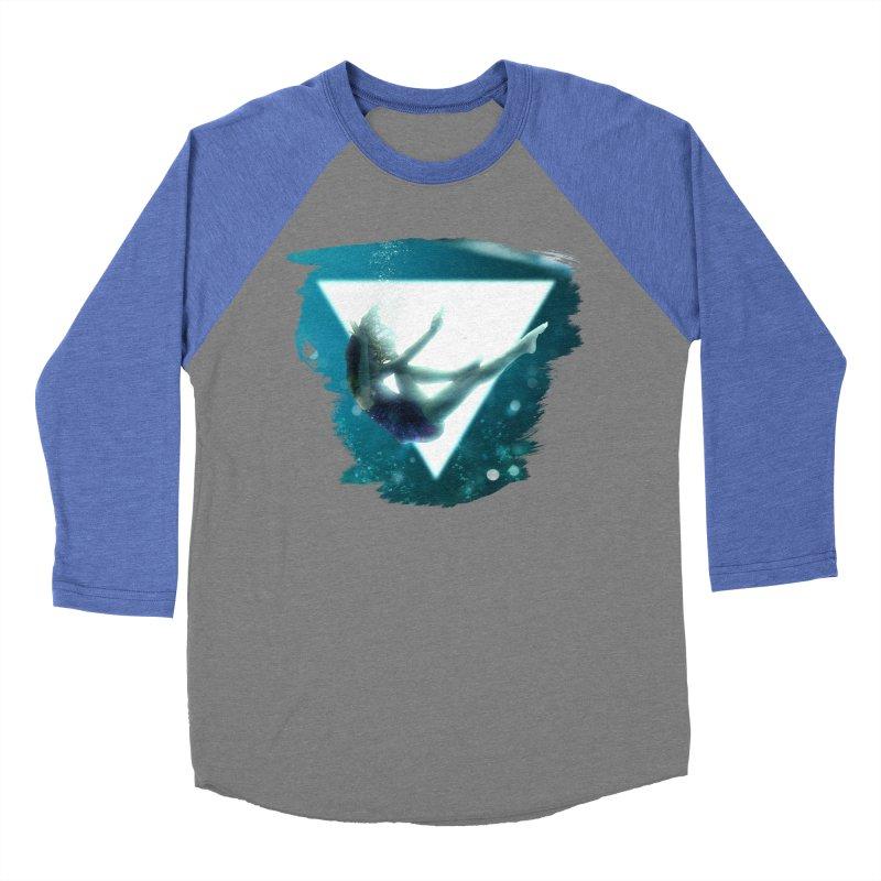 Falling Under Men's Baseball Triblend Longsleeve T-Shirt by Lumi