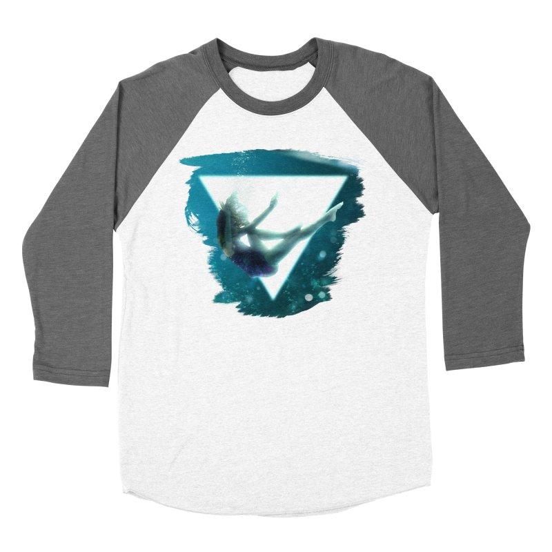 Falling Under Men's Baseball Triblend T-Shirt by Lumi