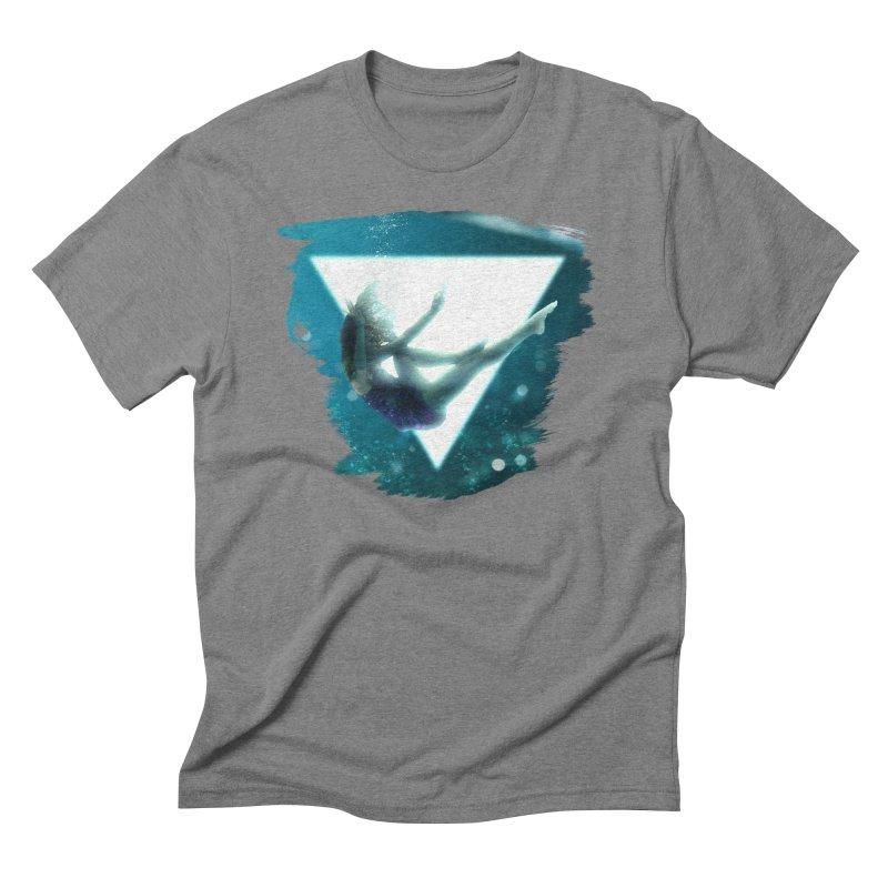Falling Under Men's Triblend T-shirt by Lumi