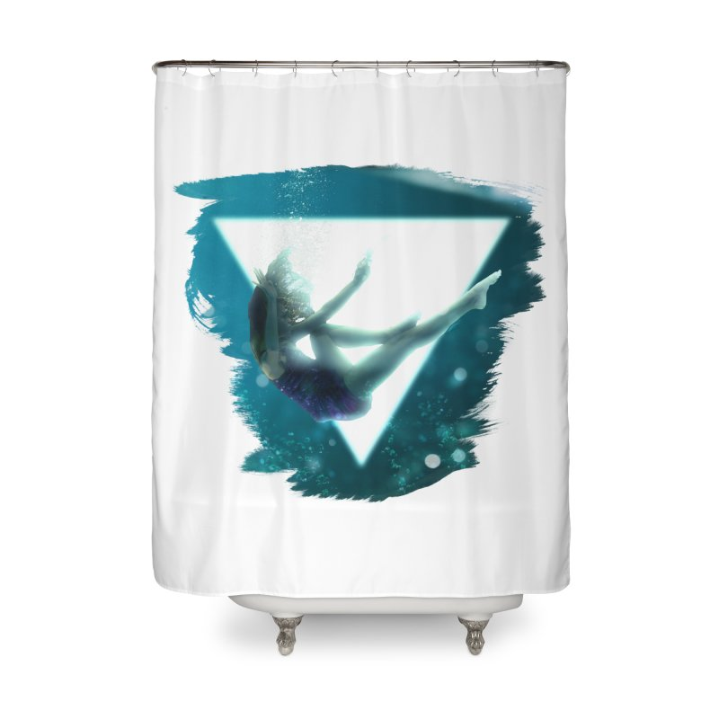 Falling Under Home Shower Curtain by Lumi