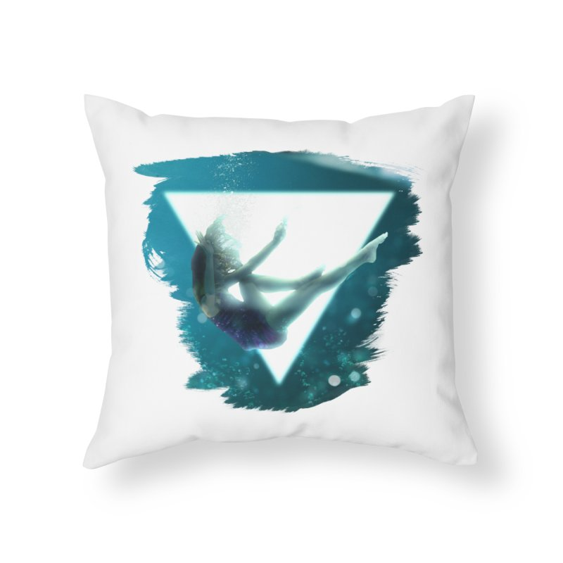 Falling Under Home Throw Pillow by Lumi