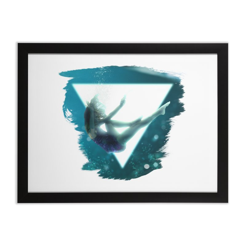 Falling Under Home Framed Fine Art Print by Lumi