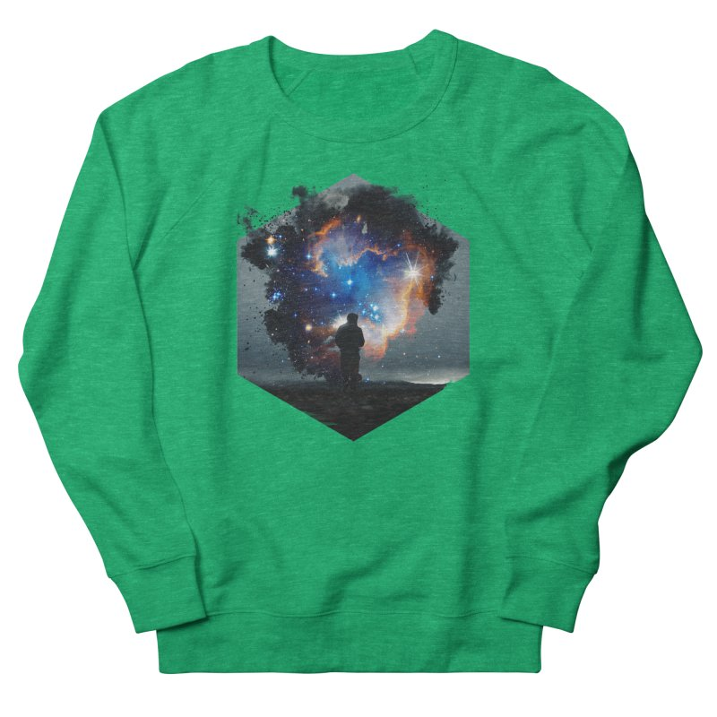 Cosmia Men's French Terry Sweatshirt by Lumi