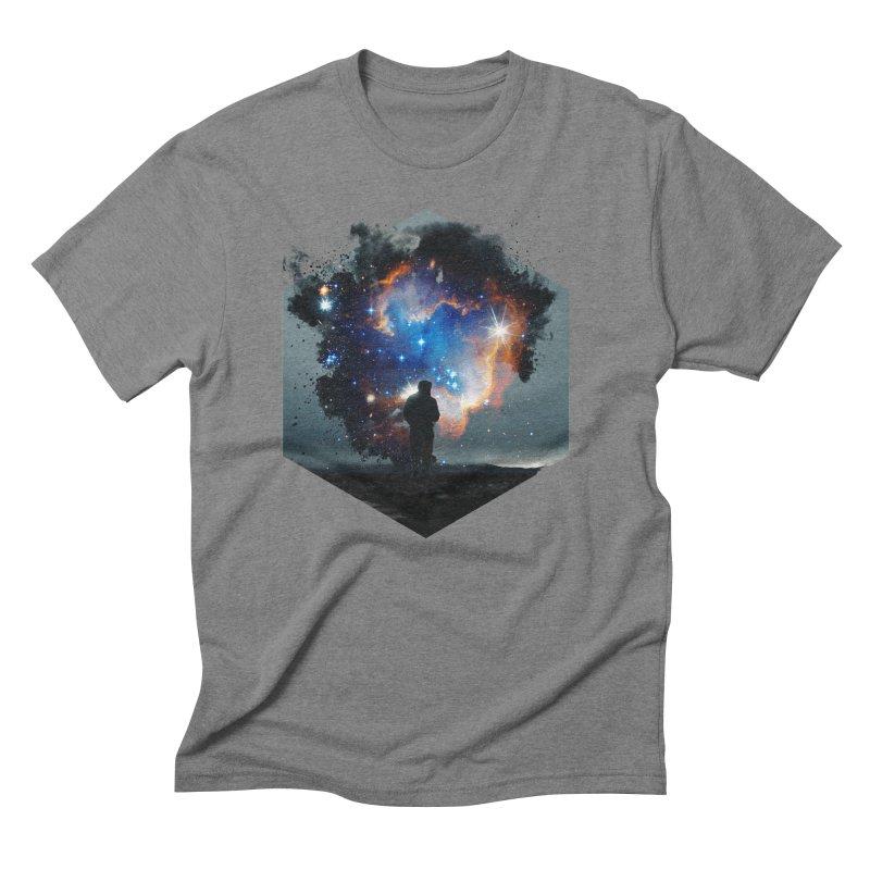 Cosmia Men's Triblend T-Shirt by Lumi