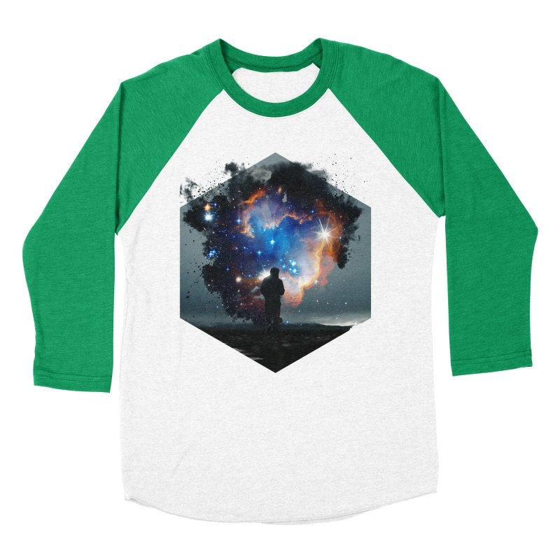 Cosmia Men's Baseball Triblend T-Shirt by Lumi