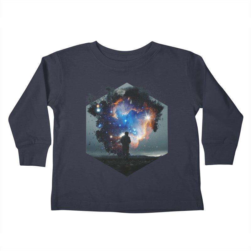 Cosmia Kids Toddler Longsleeve T-Shirt by Lumi
