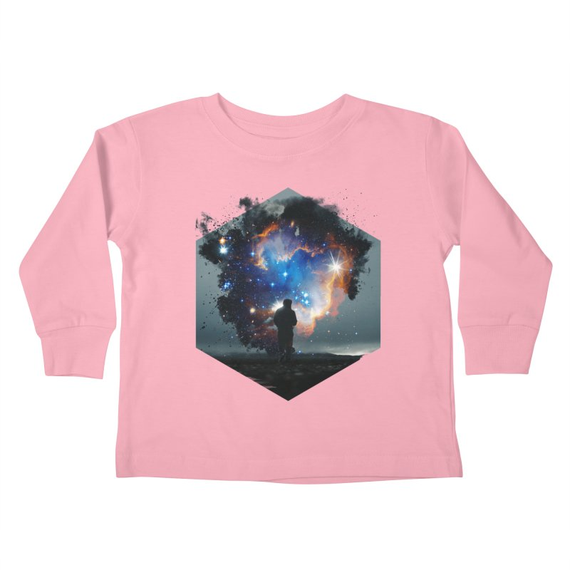 Cosmia Kids Toddler Longsleeve T-Shirt by Lumi