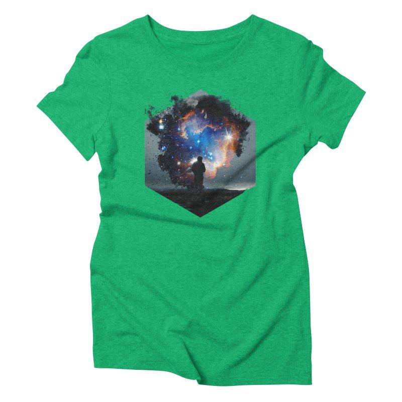 Cosmia Women's Triblend T-Shirt by Lumi