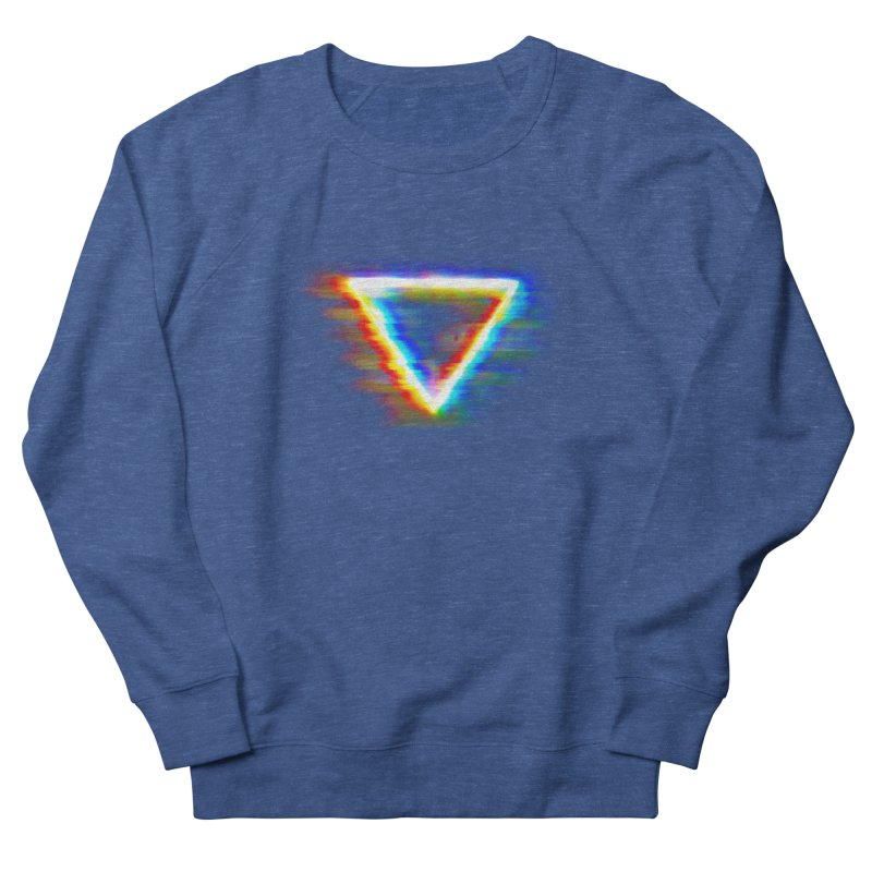 Tri (Digital Distortion) Men's Sweatshirt by Lumi