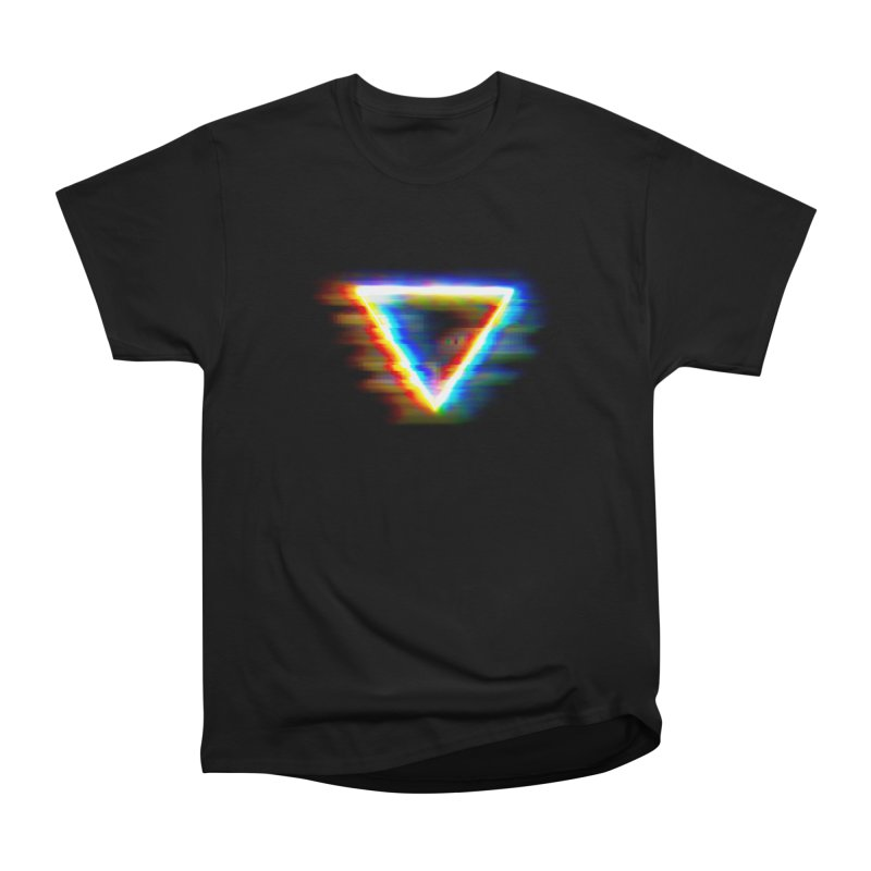 Tri (Digital Distortion) Men's Classic T-Shirt by Lumi