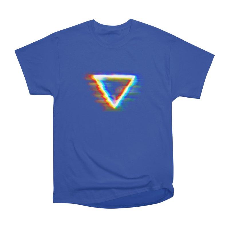 Tri (Digital Distortion) Women's Classic Unisex T-Shirt by Lumi