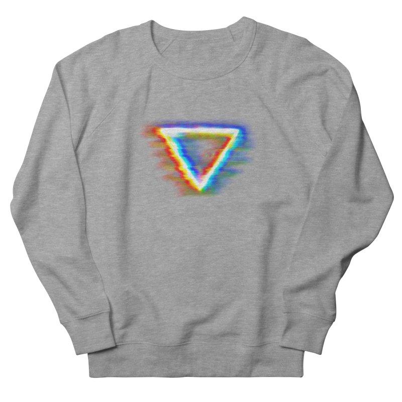 Tri (Digital Distortion) Women's French Terry Sweatshirt by Lumi