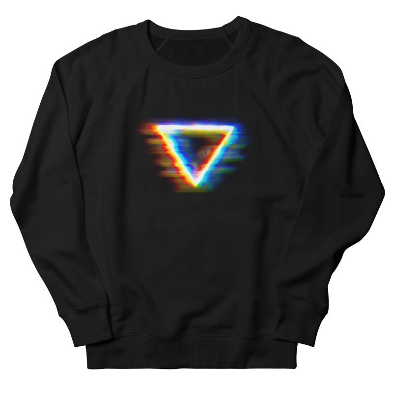 Tri (Digital Distortion) Men's Sweatshirt by Lumi