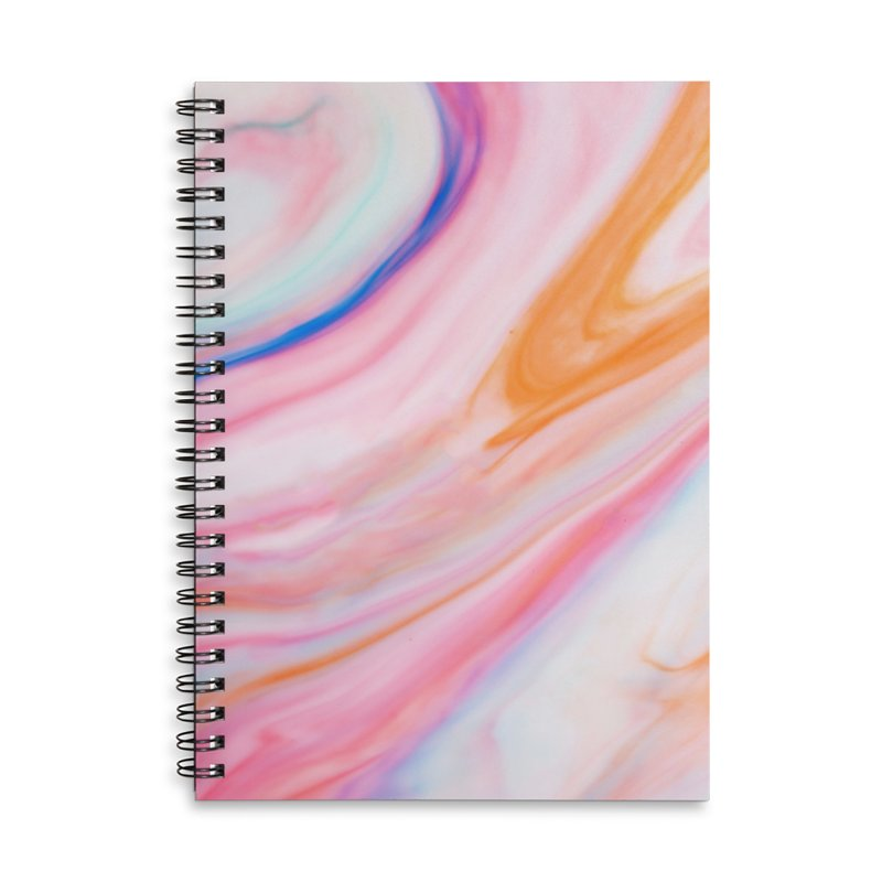 Rainbow Marble Accessories Notebook by Lumi