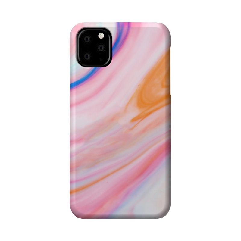 Rainbow Marble Accessories Phone Case by Lumi