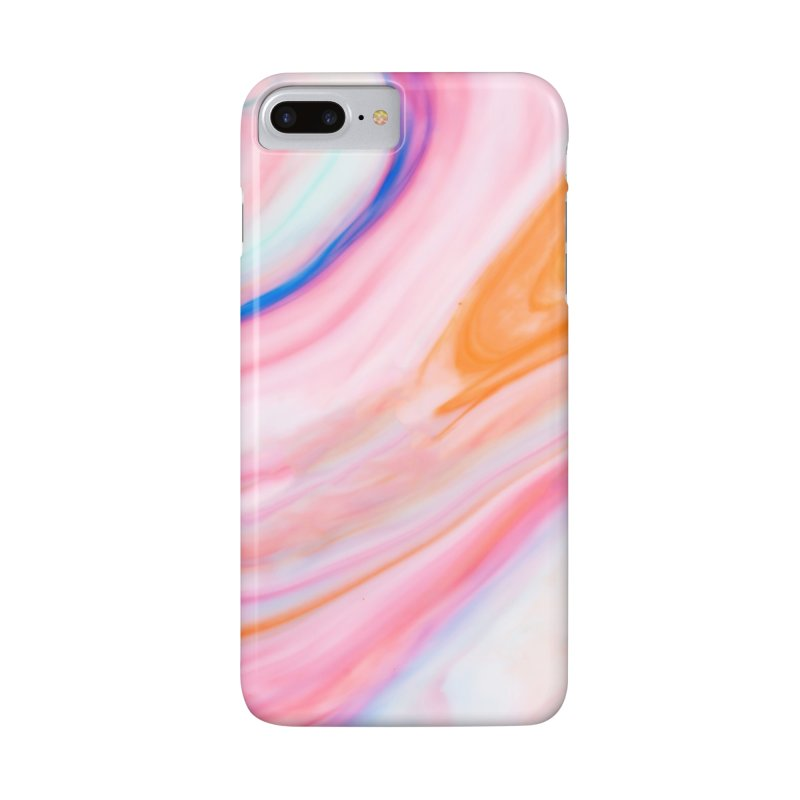 Rainbow Marble in iPhone 7 Plus Phone Case Slim by Lumi