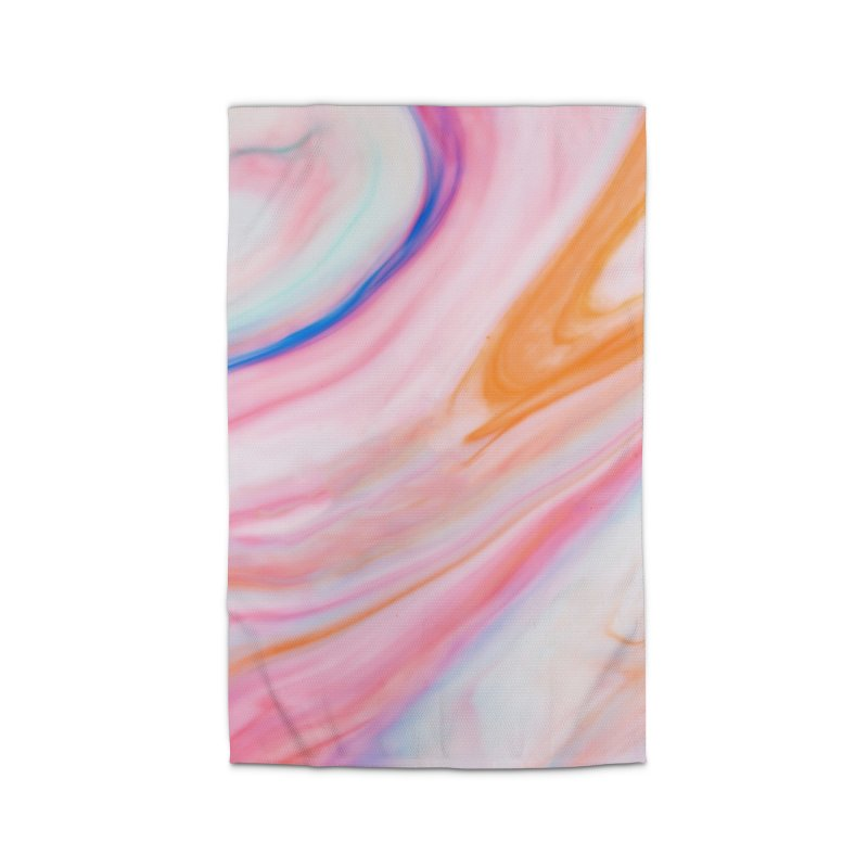 Rainbow Marble Home Rug by Lumi
