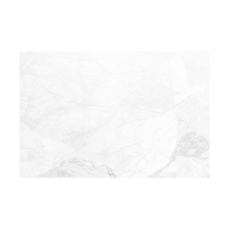 White Marble Home Shower Curtain by Lumi