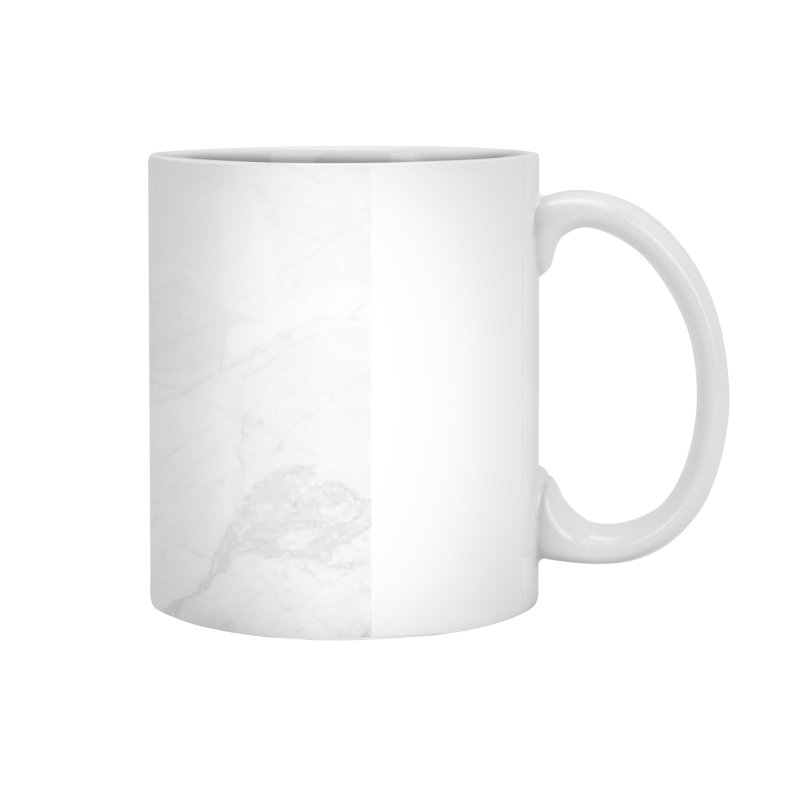 White Marble Accessories Mug by Lumi