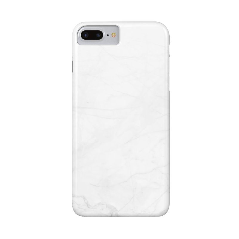White Marble in iPhone 7 Plus Phone Case Slim by Lumi