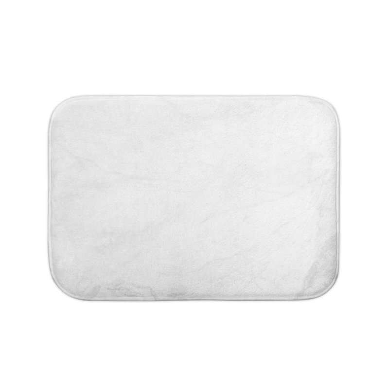 White Marble Home Bath Mat by Lumi