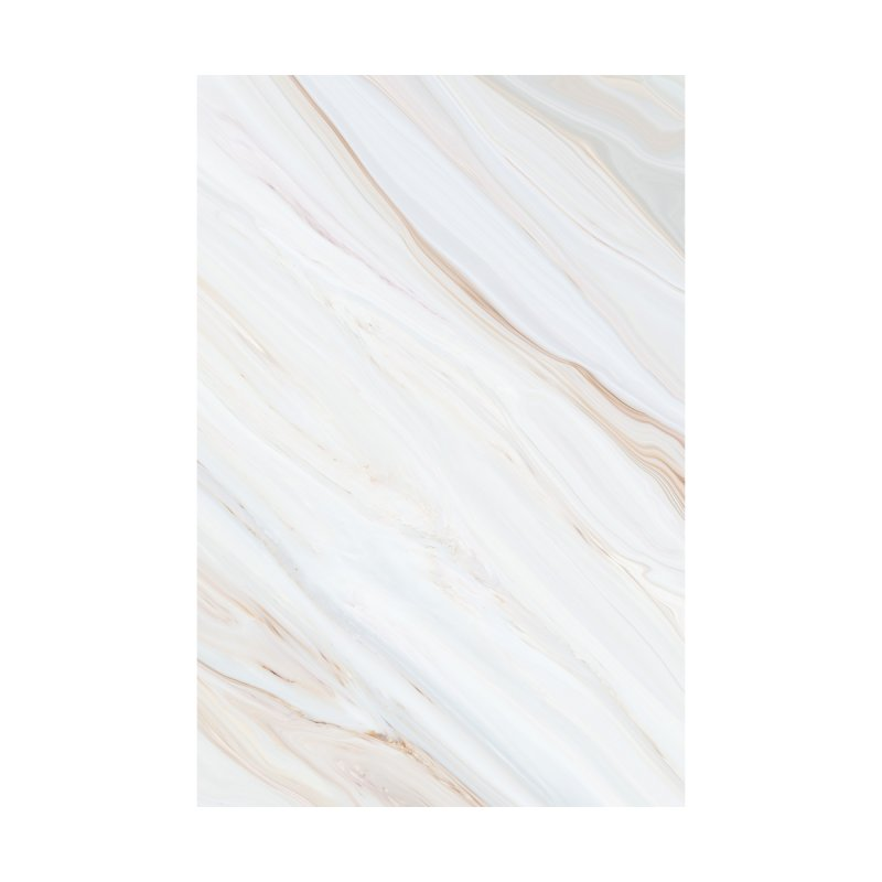 Saturn's Rings Marble Home Bath Mat by Lumi