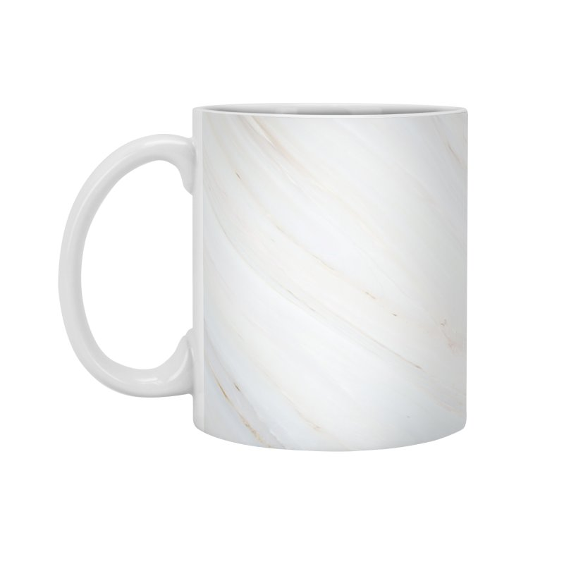Saturn's Rings Marble Accessories Standard Mug by Lumi