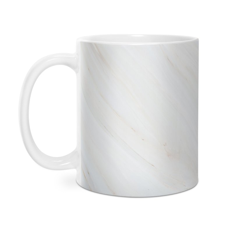Saturn's Rings Marble Accessories Mug by Lumi