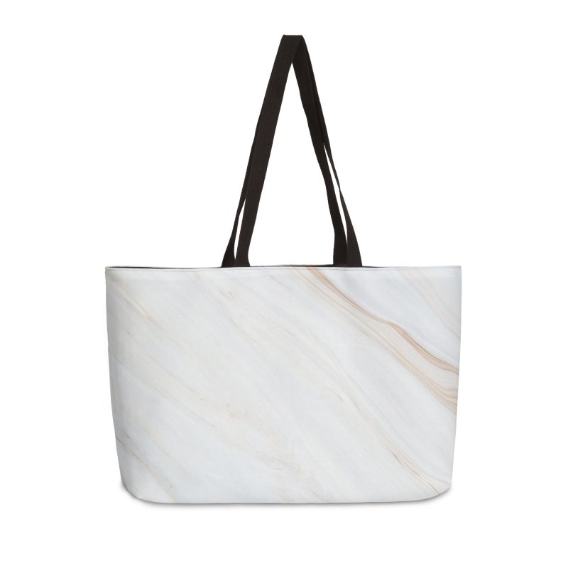 Saturn's Rings Marble Accessories Weekender Bag Bag by Lumi
