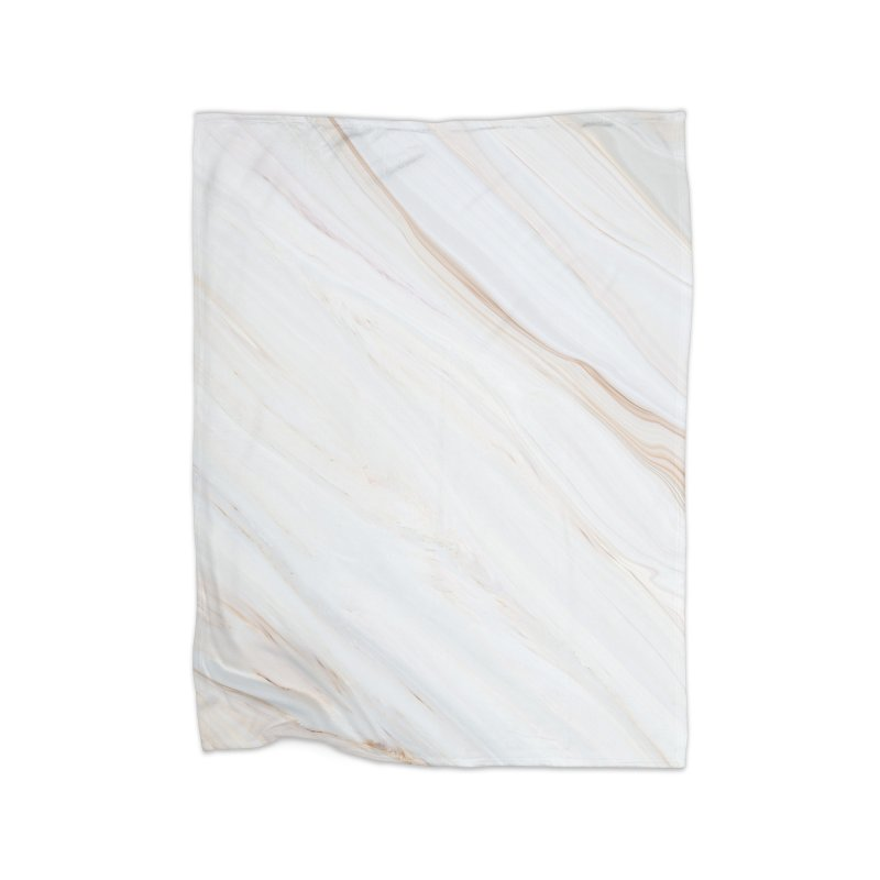 Saturn's Rings Marble Home Blanket by Lumi