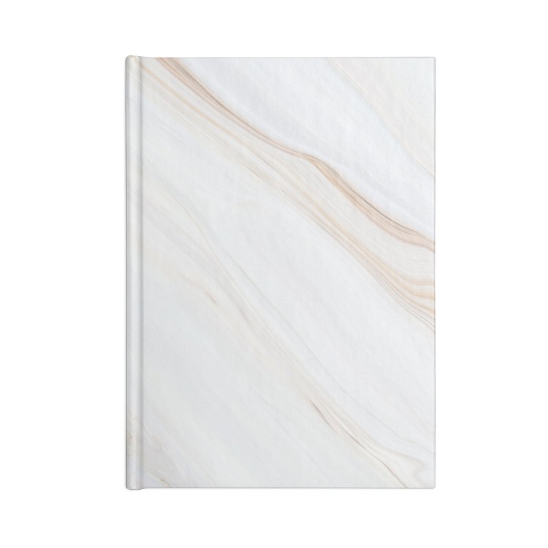 Saturn's Rings Marble Accessories Blank Journal Notebook by Lumi