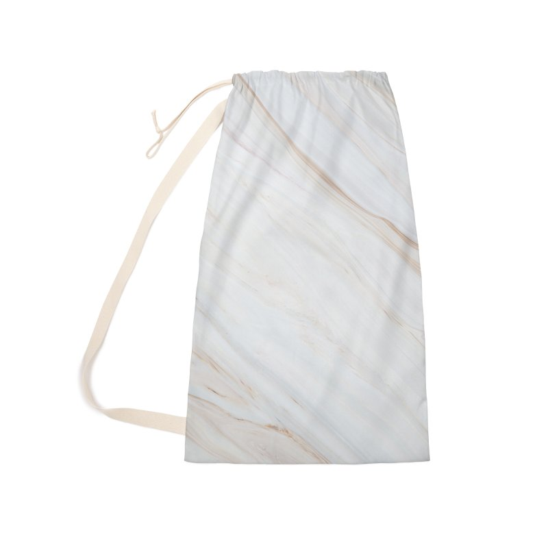 Saturn's Rings Marble Accessories Laundry Bag Bag by Lumi