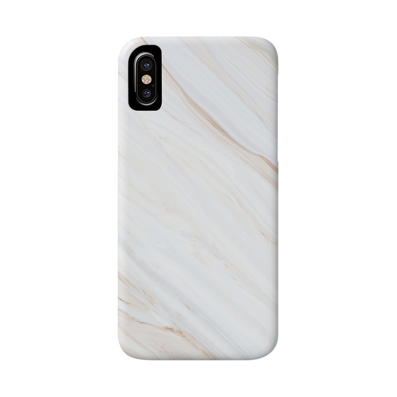 Saturn's Rings Marble Accessories Phone Case by Lumi