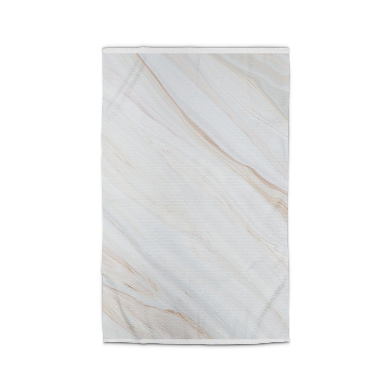 Saturn's Rings Marble Home Rug by Lumi