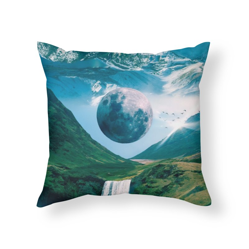 Lunarity Home Throw Pillow by Lumi