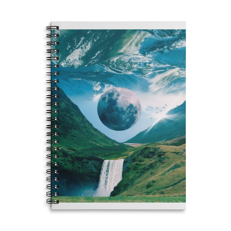 Lunarity Accessories Lined Spiral Notebook by Lumi