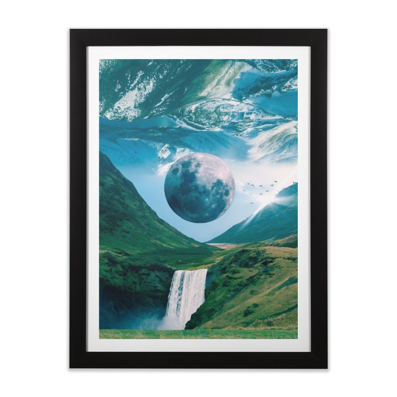 Lunarity Home Framed Fine Art Print by Lumi