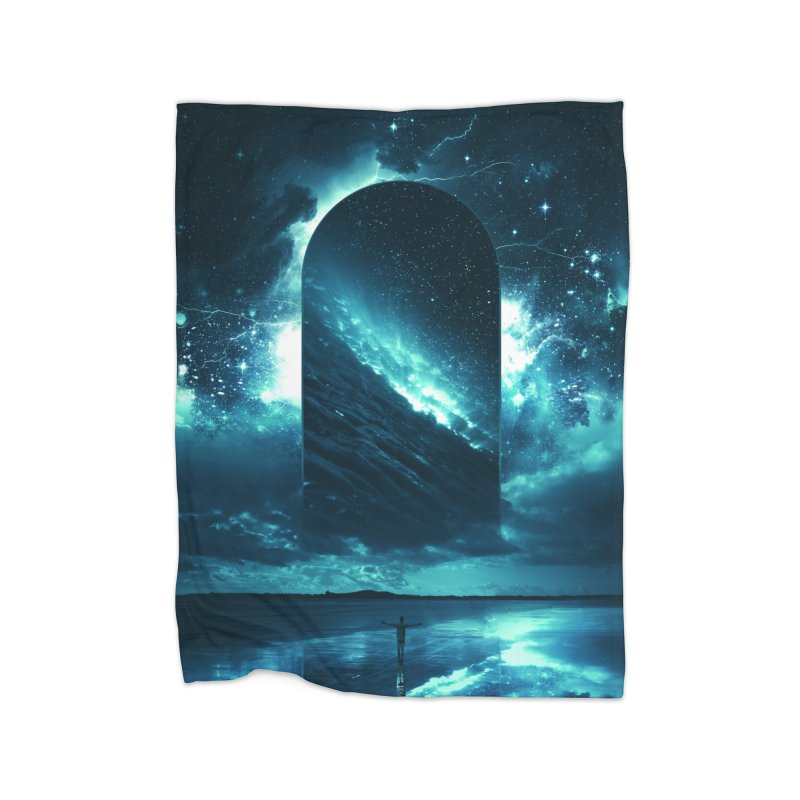 Cosmic Storm Home Blanket by Lumi