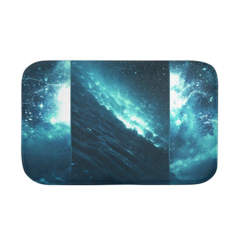 Cosmic Storm Home Bath Mat by Lumi