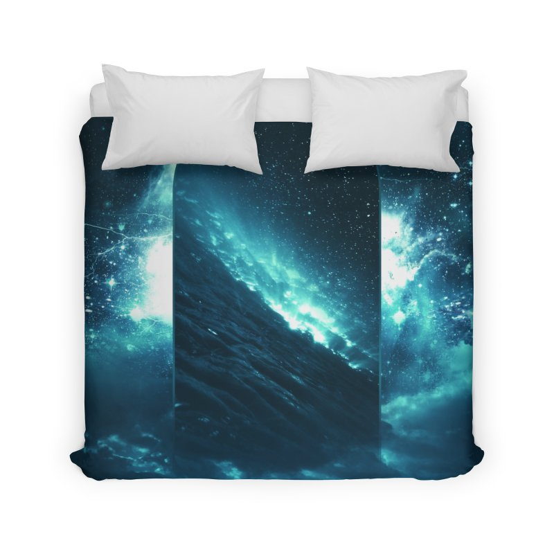 Cosmic Storm Home Duvet by Lumi