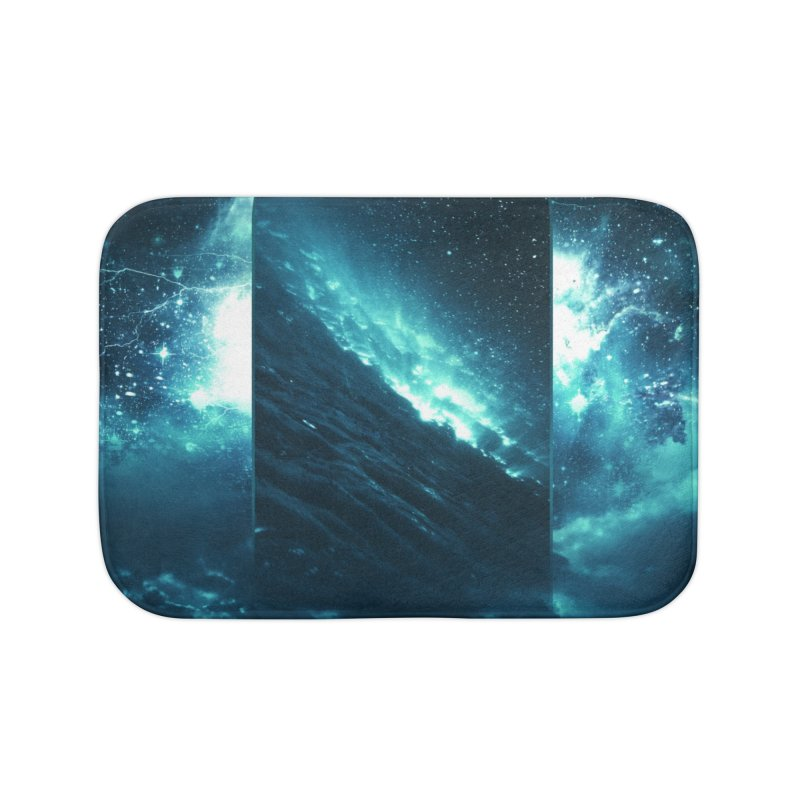 Cosmic Storm Home Bath Mat by Lumi