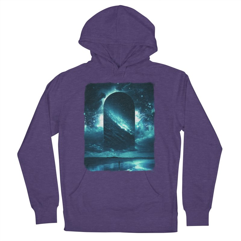 Cosmic Storm Women's Pullover Hoody by Lumi