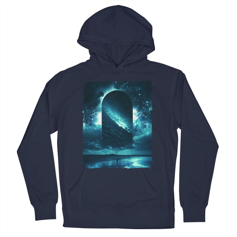 Cosmic Storm Men's Pullover Hoody by Lumi