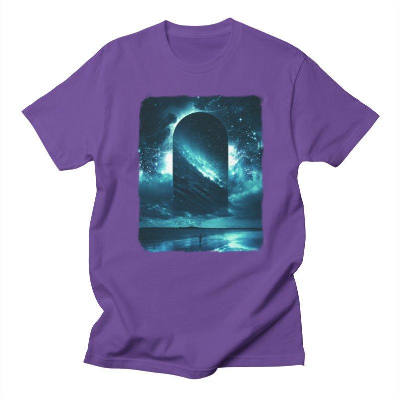 Cosmic Storm Men's T-Shirt by Lumi