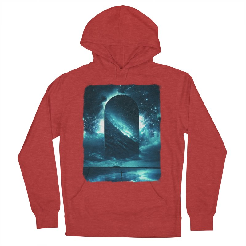 Cosmic Storm Women's French Terry Pullover Hoody by Lumi