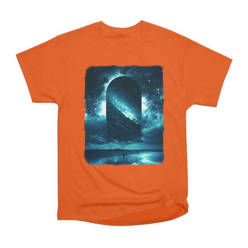 Cosmic Storm Men's Heavyweight T-Shirt by Lumi