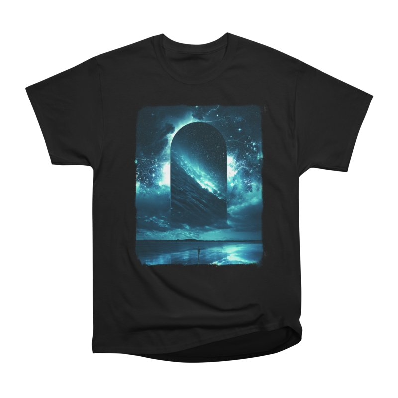 Cosmic Storm Women's Heavyweight Unisex T-Shirt by Lumi
